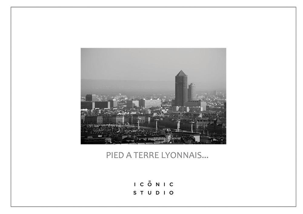 Projet Pied à terre Lyonnais par Mel Alfon