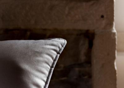 Angle d'un coussin