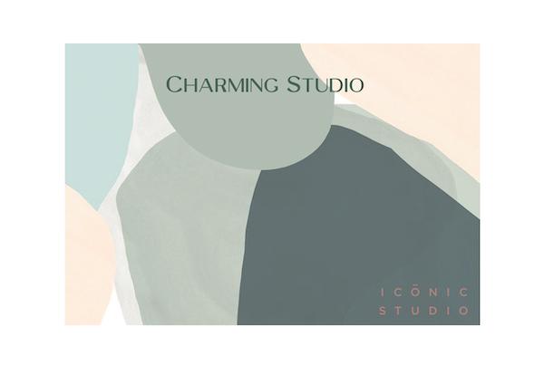 illustration du projet Charming Studio de la décoratrice d'intérieur Mélanie Alfon d'Iconic Studio